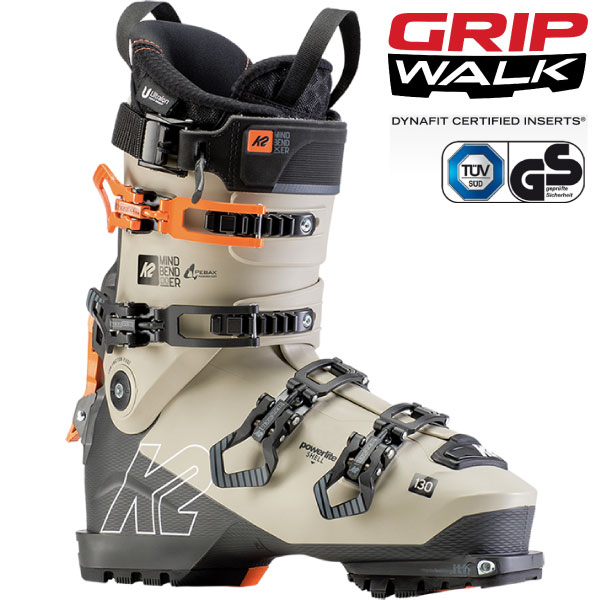 クーポン利用で10%OFF!K2 ケーツー 19-20 スキーブーツ 2020 MINDBENDER 130 マインドベンダー ウォークモード バックカントリー (onecolor):S191900601