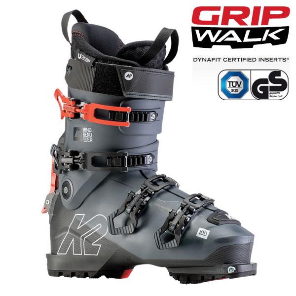 クーポン利用で10%OFF!K2 ケーツー 19-20 スキーブーツ 2020 MINDBENDER 100 マインドベンダー ウォークモード バックカントリー (onecolor):S191900801