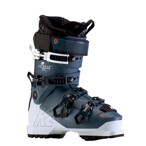 クーポン利用で10%OFF!K2 ケーツー 19-20 スキーブーツ 2020 ANTHEM 100 MV アンセム オールラウンド 女性モデル 軽量 (onecolor):S191901801