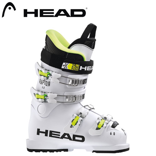 HEAD ヘッド 19-20 スキーブーツ 2020 Raptor 60 ラプター60 ジュニア スキーブーツ レーシング (White):608424