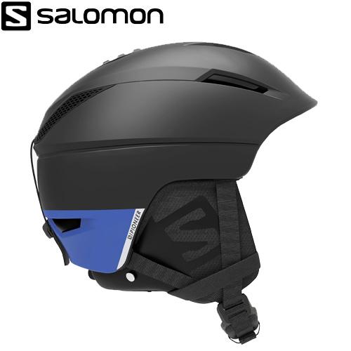 ポイント10倍!5/11 11:59までSALOMON サロモン 19-20 PIONEER C AIR (Black/Raceblue) ヘルメット パイオニアカスタムエアー スキーヘルメット 2020:L408389 [34SS_HEL]