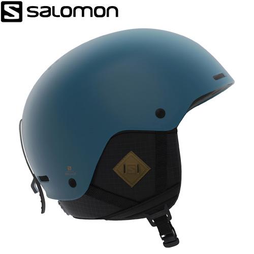 ポイント10倍!5/11 11:59までSALOMON サロモン 19-20 BRIGADE+ (Moroccan Blue) ヘルメット ブリゲイドプラス スキーヘルメット 2020:L405369 [34SS_HEL]