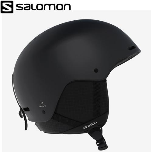 クーポン利用で10%OFF!2/17AMまで!SALOMON サロモン 19-20 BRIGADE (黒) ヘルメット ブリゲイド スキーヘルメット 2020 (1col):L405372