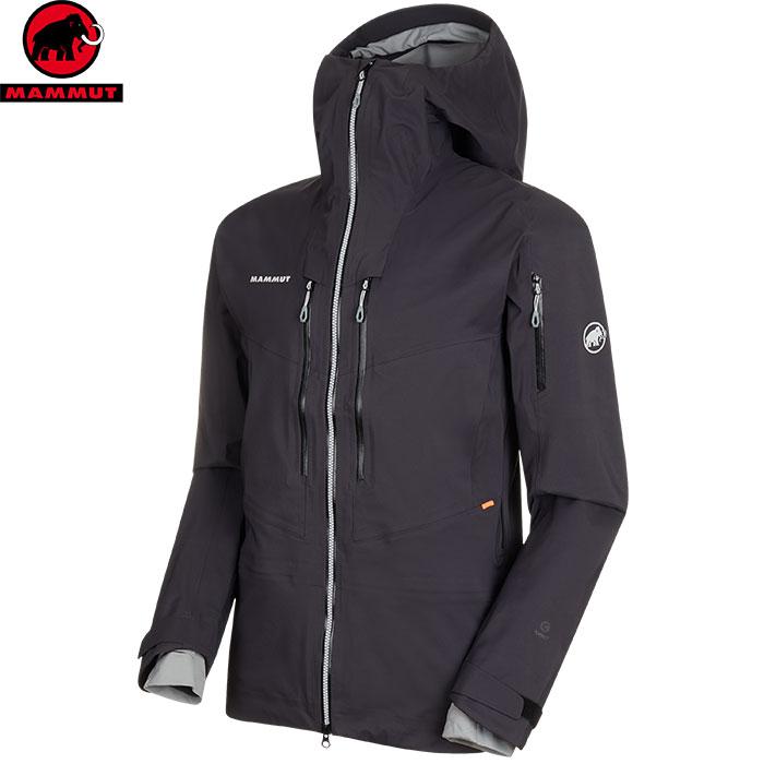 スーパーセール限定特価!MAMMUT マムート Haldigrat HS Hooded Jacket Men スキーウェア ジャケット メンズ (black):1010-27390 [34SS_WSsw]