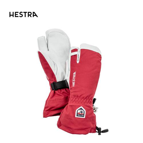 クーポン利用で10%OFF!HESTRA ヘストラ 2020モデル Heli ski 3-Finger 30572 ヘリスキースリーフィンガー 560(Red) スキーグローブ オールマウンテン