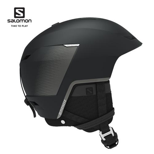 薄型設計を採用したオールマウンテンヘルメット Salomon サロモン 20-21 ヘルメット PIONEER LT CA 格安 パイオニア クーポン利用で10%OFF プロテクター 格安SALEスタート 2月16日20:00から23日10:00まで L41157300 スノーボード BLACK SKI_ACC スキー 軽量