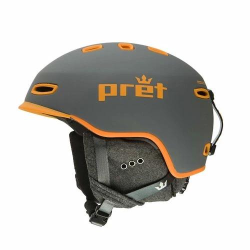 ポイント10倍!5/11 11:59までPret プレット 19-20 ヘルメット Cynic SlateGrey シニック スキーヘルメット HELMET 2020 : [34SS_HEL]