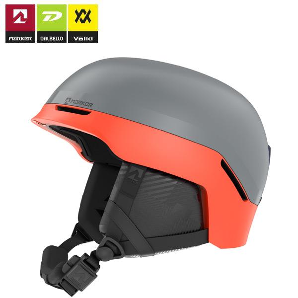 ポイント10倍!5/11 11:59までMARKER マーカー 19-20 CONVOY+ コンボイプラス 軽量インモールド ヘルメット サイズ調整可 (グレー-レッド):169906 [34SS_HEL]