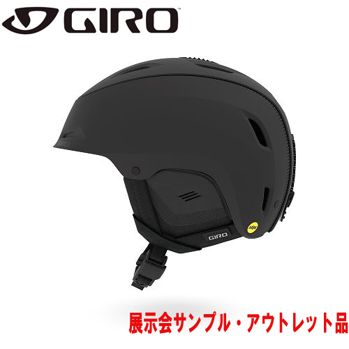 クーポン利用で10%OFF!GIRO ジロー 19-20 ヘルメット (アウトレット) 2020 RANGE MIPS Matte Black レンジミップス スキーヘルメット メンズ MIPS カスタムフィット: