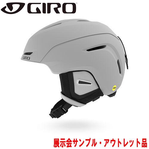 クーポン利用で10%OFF!GIRO ジロー 19-20 ヘルメット (アウトレット) 2020 NEO Mips AF Matte Light Grey ネオミップス スキーヘルメット メンズ MIPS アジアンフィット: