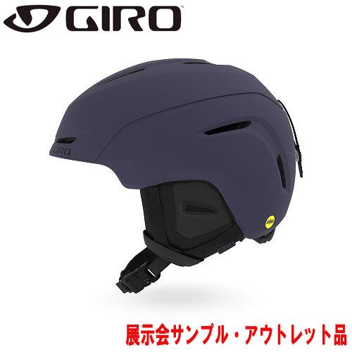 クーポン利用で10%OFF!GIRO ジロー 19-20 ヘルメット (アウトレット) 2020 NEO Mips AF Matte Midnight ネオミップス スキーヘルメット メンズ MIPS アジアンフィット: