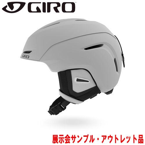 クーポン利用で10%OFF!GIRO ジロー 19-20 ヘルメット (アウトレット) 2020 NEO Matte Light Gray ネオ スキーヘルメット メンズ アジアンフィット: