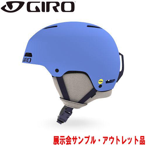 クーポン利用で10%OFF!GIRO ジロー 19-20 ヘルメット (アウトレット) 2020 LEDGE MIPS Matte Shock Blue レッジミップス スキーヘルメット メンズ MIPS フリースタイル: