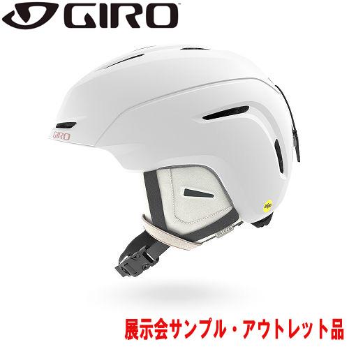 クーポン利用で10%OFF!GIRO ジロー 19-20 ヘルメット (アウトレット) 2020 AVERA MIPS AF Pearl White アベラミップス スキーヘルメット レディース アジアンフィット: