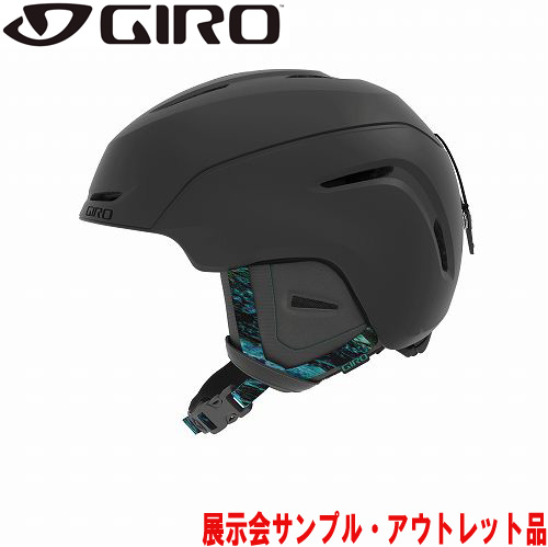 クーポン利用で10%OFF!GIRO ジロー 19-20 ヘルメット (アウトレット) 2020 AVERA Matte Graphite Rockpool アベラ スキーヘルメット レディース アジアンフィット:
