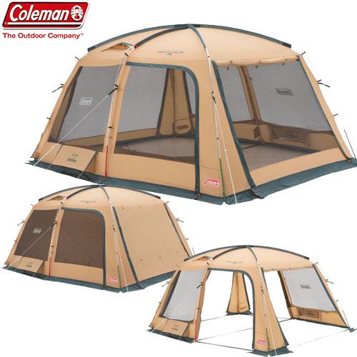 COLEMAN コールマン タフスクリーンタープ/400 〔2018SS キャンプ用品 テント タープ 〕 (ベージュ):2000031577