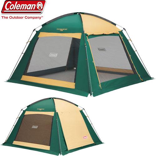 [クーポン利用で10%OFF!4/8まで] COLEMAN コールマン スクリーンキャノピージョイントタープ 〔2018SS キャンプ用品 テント タープ 〕 (グリーンベージュ):2000027986