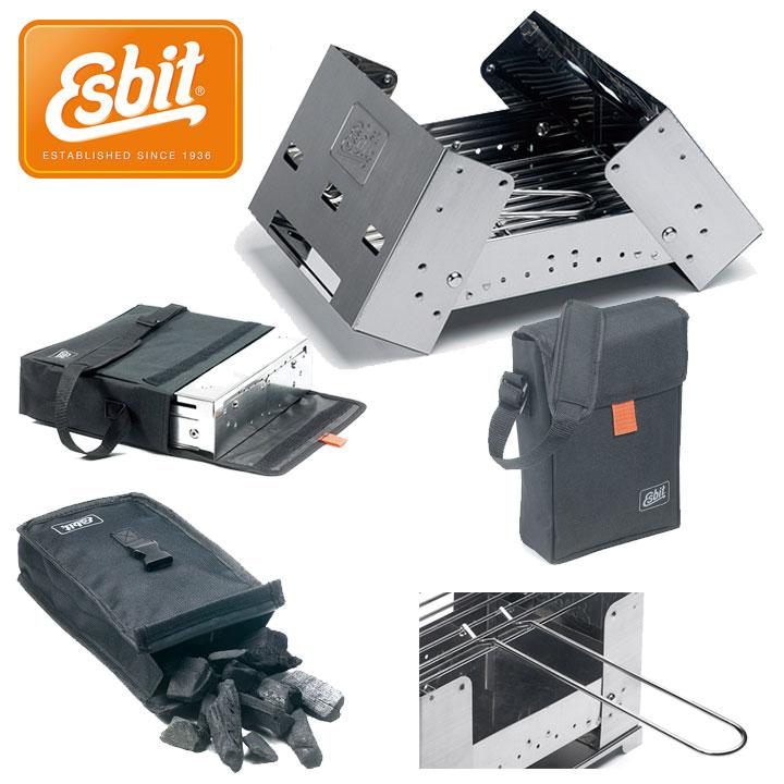 Esbit  2016SS チャコールグリルXS[BBQ100] (NC):ESBBQ100S0