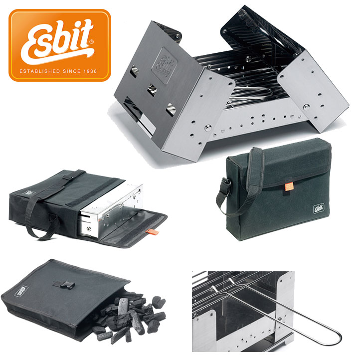 Esbit  2016SS チャコールグリル[BBQ300] (NC):ESBBQ300S0
