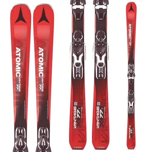 [クーポン利用で10%OFF!4/8まで] ATOMIC アトミック 17-18 スキー ski 2018 VANTAGE X 77 C バンテージX77C (金具付き) オールマウンテン [1202SSski] [outlet ski]