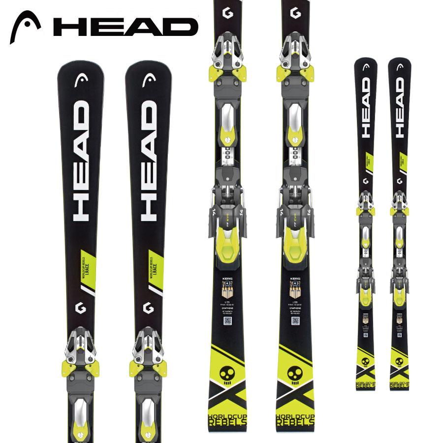 [クーポン利用で10%OFF!4/8まで] HEAD ヘッド 18-19 スキー Ski 2019 WORLDCUP REBELS I RACE (FF EVO11 金具付き) 基礎 デモ (-):