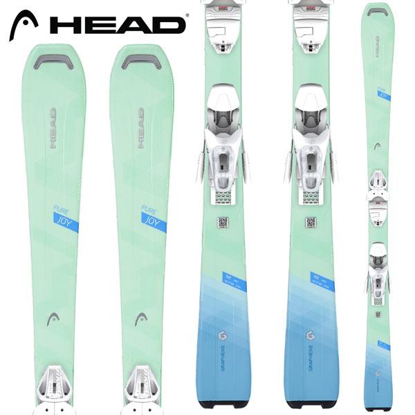 [クーポン利用で10%OFF!4/8まで] HEAD ヘッド 18-19 スキー Ski 2019 PURE JOY ピュアジョイ + JOY11 GW レディース オールマウンテン (-):315758