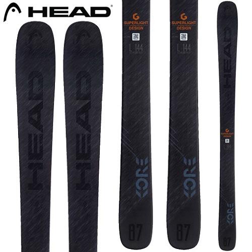 ポイント10倍!5/11 11:59までHEAD ヘッド 18-19 スキー Ski 2019 KORE 87 コア 87 (板のみ) オールマウンテン 軽量 パウダー:314048 [34SSスキー]