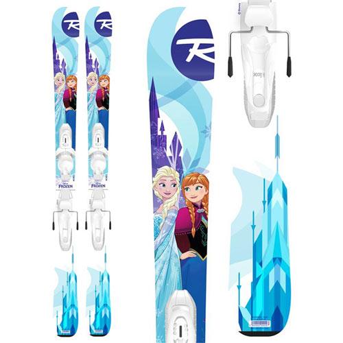 [クーポン利用で10%OFF!4/8まで] ROSSIGNOL ロシニョール 18-19 スキー 2019 SKI FROZEN KID-X フローズン + KID-X 4 ジュニア キッズ (-):