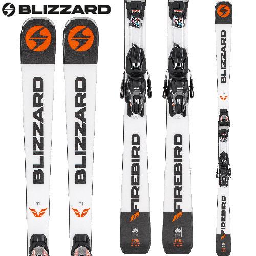 [クーポン利用で10%OFF!4/8まで] BLIZZARD ブリザード 18-19 ski 2019 スキー FIREBIRD TI+TPC10 DEMO (金具付き) レーシング 基礎 (-):