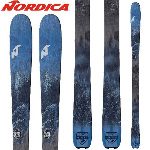 [クーポン利用で10%OFF!4/8まで] NORDICA ノルディカ 18-19 ski 2019 スキー ナビゲーター NAVIGATOR 85 (板のみ) オールマウンテン (-):