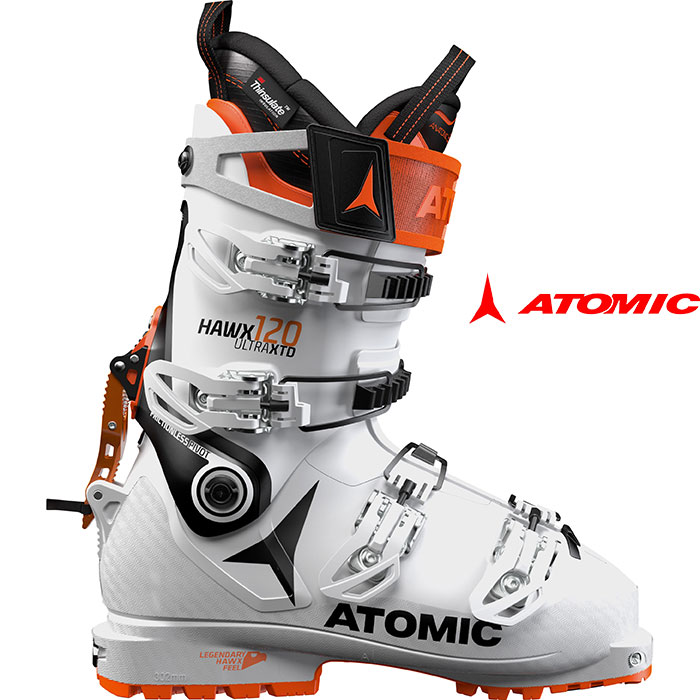 [クーポン利用で10%OFF!4/8まで] ATOMIC アトミック 18-19 スキーブーツHAWX ULTRA XTD 120 ホークス ウルトラXTD 120 2019 ウォークモード付 ツアー バックカントリー :ae5017520