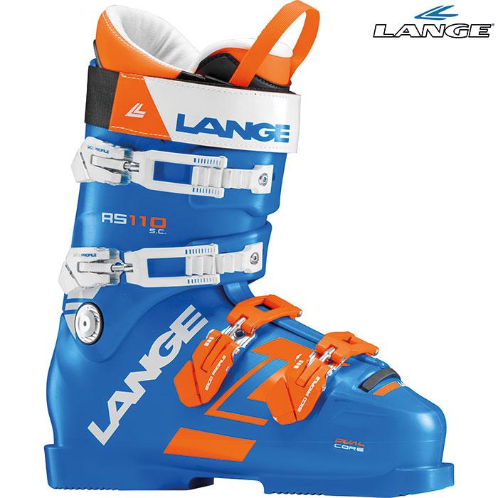 [クーポン利用で10%OFF!4/1まで] 18-19 LANGE ラング RS 110 S.C. 〔2019 スキーブーツ RACE〕 (power-blue):LBG1310-H [outlet boot]