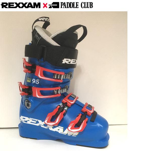 ポイント10倍!5/11 11:59まで18-19 REXXAM レクザム スキーブーツ Power MAX-95 パワーマックス95(BX-Sインナー)〔2019 中・上級者モデル 基礎スキー オールランド 〕 (BLUE):X2JL-725P [34SSブーツ]
