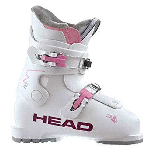 クーポン利用で10%OFF!HEAD ヘッド 18-19 スキーブーツ 2019 Z2 WHITE/PINK ゼットツー レディース ジュニア: