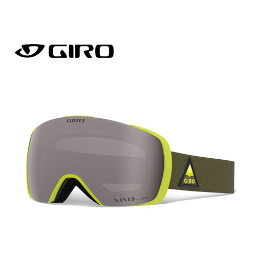 クーポン利用で10%OFF!GIRO ジロー 19-20 ゴーグル 2020 CONTACT CITRON ARROW MTN コンタクト スキーゴーグル メンズ 球面 Vividレンズ:7105332