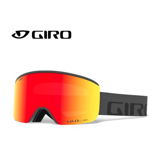 クーポン利用で10%OFF!GIRO ジロー 19-20 ゴーグル 2020 AXIS GREY WORDMARK アクシス スキーゴーグル メンズ 平面 Vividレンズ 眼鏡対応:7095007