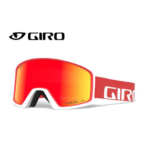 クーポン利用で10%OFF!GIRO ジロー 19-20 ゴーグル 2020 BLOK APEX RED/WHITE ブロック スキーゴーグル メンズ 平面 Vividレンズ 眼鏡対応:7095030