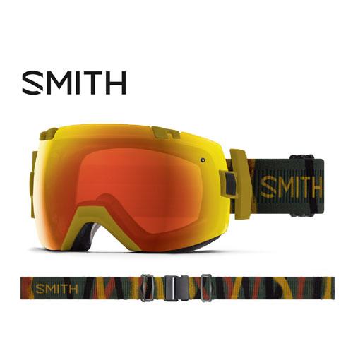 クーポン利用で10%OFF!SMITH スミス 19-20 ゴーグル 2020 I/OX Spray Camo アイオーエックス スキーゴーグル 球面 クロマポップ 調光:010260062