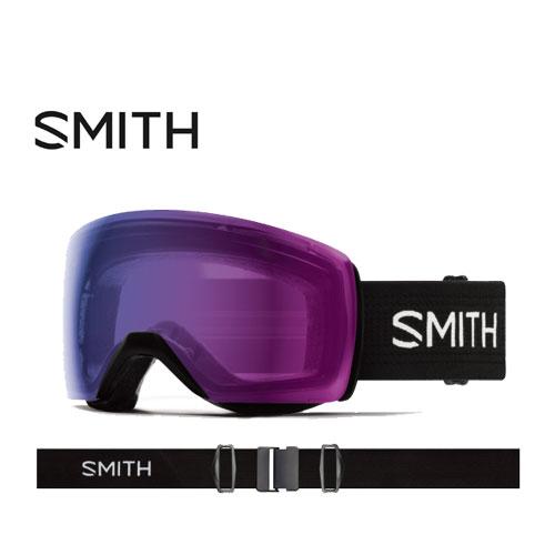 クーポン利用で10%OFF!SMITH スミス 19-20 ゴーグル 2020 Skyline XL Black スカイラインエックスエル スキーゴーグル 球面 クロマポップ 眼鏡対応:010260071