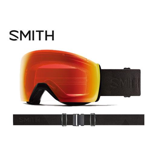 クーポン利用で10%OFF!SMITH スミス 19-20 ゴーグル 2020 Skyline XL Blackout スカイラインエックスエル スキーゴーグル 球面 クロマポップ 調光:010260074