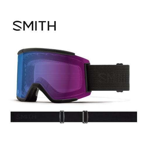 クーポン利用で10%OFF!SMITH スミス 19-20 ゴーグル 2020 Squad XL Blackout スカッドエックスエル スキーゴーグル 平面 クロマポップ 調光:010250132