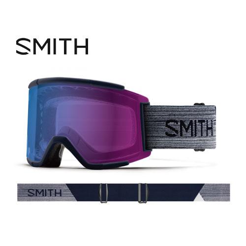 クーポン利用で10%OFF!SMITH スミス 19-20 ゴーグル 2020 Squad XL Ink スカッドエックスエル スキーゴーグル 平面 クロマポップ 調光:010260113