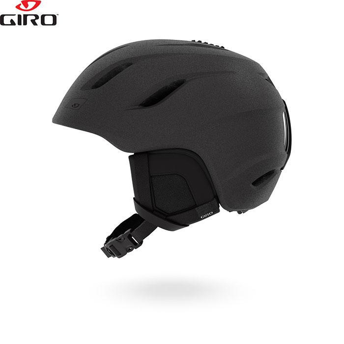 [クーポン利用で10%OFF!4/8まで] Giro ジロー ヘルメット NINE AF ナイン 2018/2019 お買い得 スキー スノーボード (MatteGraphite):709378