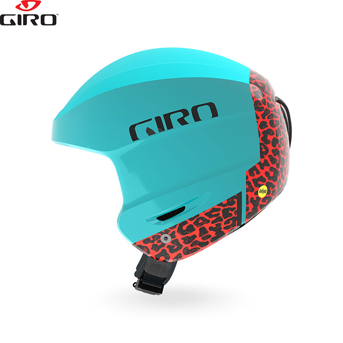 [クーポン利用で10%OFF!4/8まで] Giro ジロー ヘルメット STRIVE MIPS ストライブ ミップス 2018/2019 お買い得 スキー スノーボード (チンバー付属) (MatteGlacier-Cheetah):709598