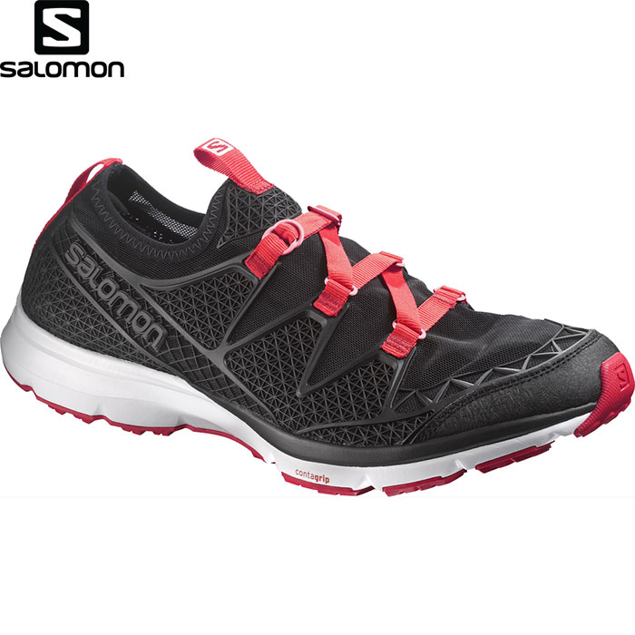 [11/16まで 10%OFFクーポンあり] SALOMON サロモン CROSSAMPHIBIAN WOMEN 〔FOOTWEAR シューズ Women 2017SS 〕 (BK-BK-LOTUS-PI):L37967800 [56-SHOES¥]