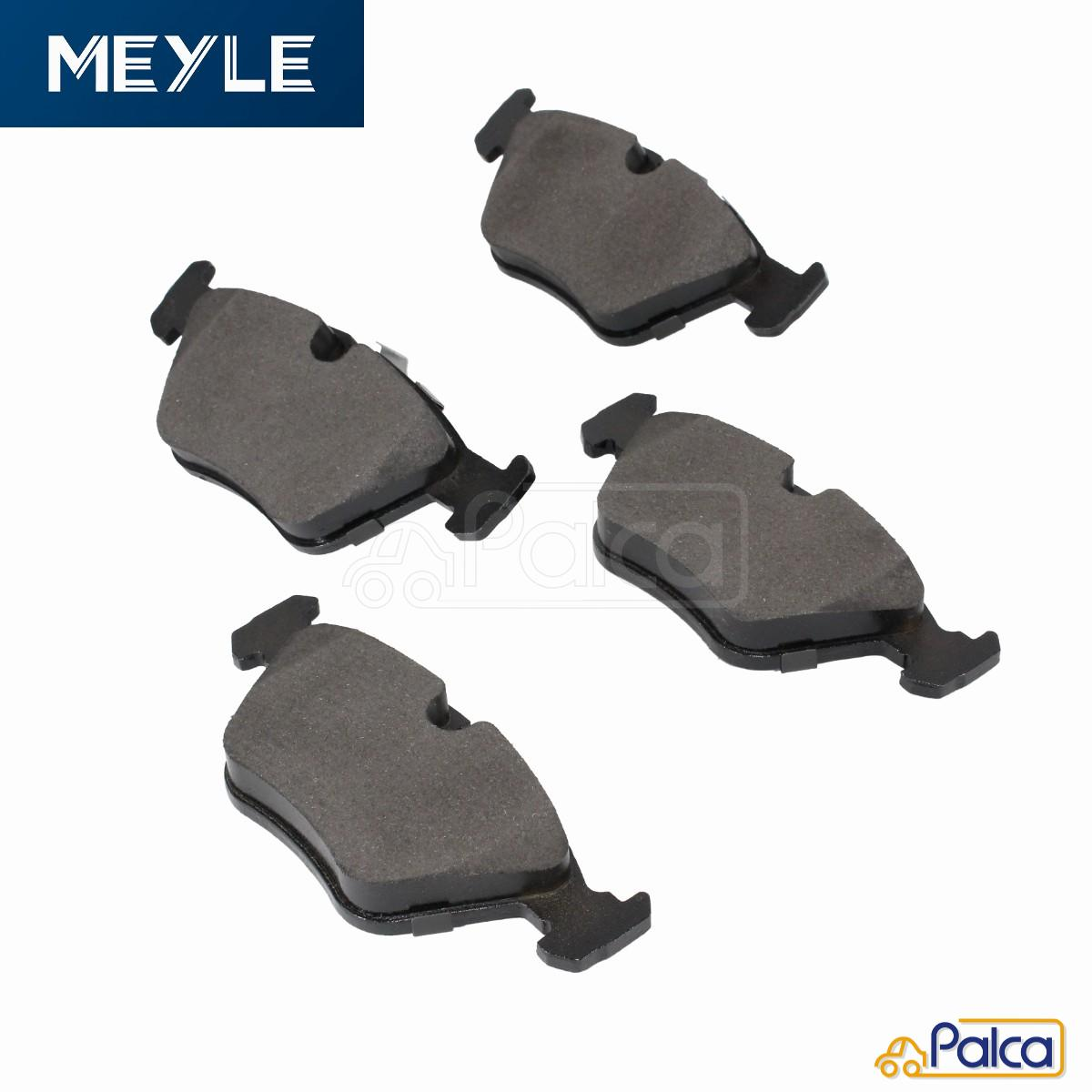 MEYLE製 新品 2020A W新作送料無料 数量は多 あす楽 BMW フロント E39 34116761278 34116761280 ブレーキディスクパッド 5シリーズ