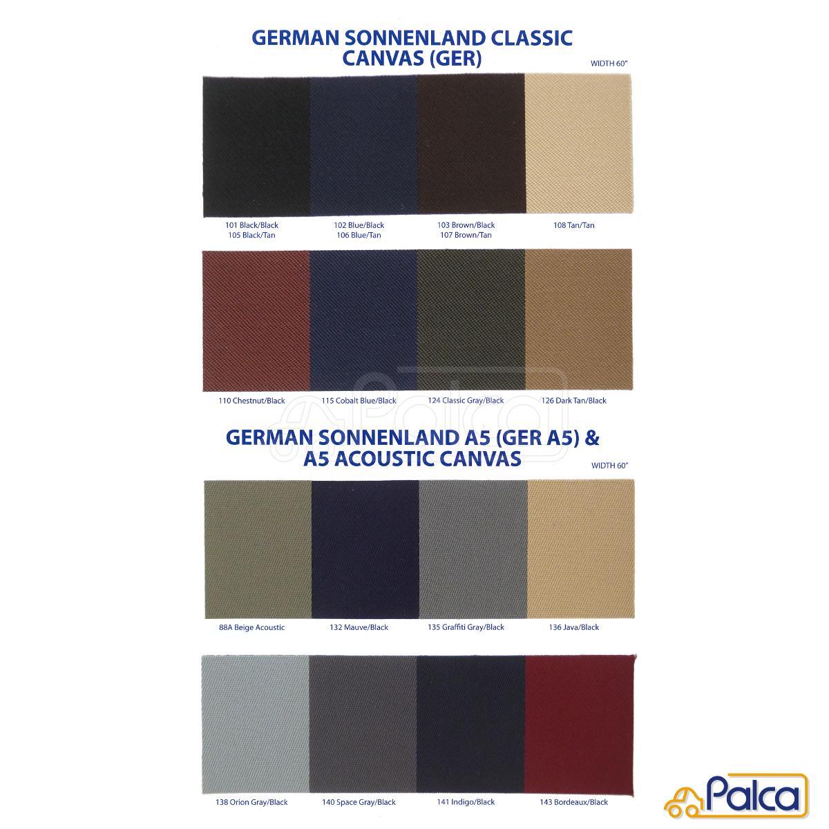 フォルクスワーゲン ソフトトップ/幌 ゴルフ3カブリオレ キャンバス/Sonnenland German Classic アメリカ製