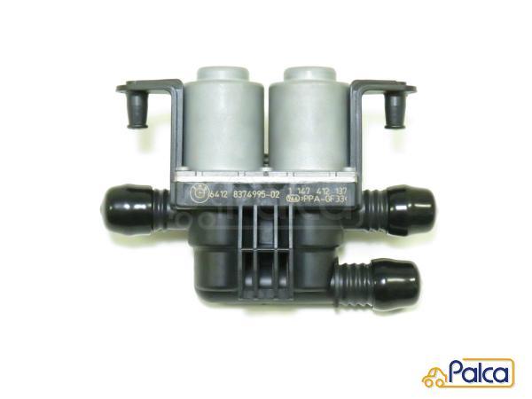 TOPAZ 64128374995 Water Heater Control Valve Dual Solenoid for BMW E39 525i 528i 530i X5 E53