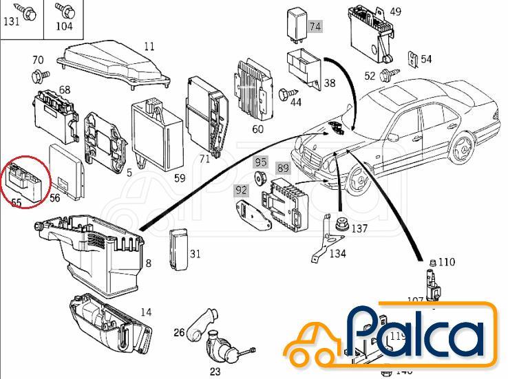 Mercede Benz E 420 Fuse Box Diagram