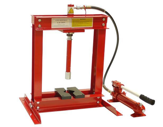 イリイ 4ton油圧プレス ショッププレス4000kgハンドプレス